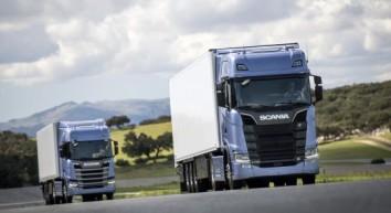 Scania partner del tour Congiunzioni di ANAS